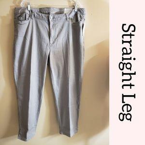 🆕️ Gray Straight Leg Jeans